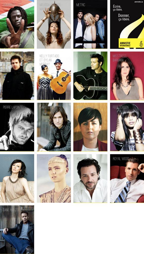 Artistes pour Amnistie