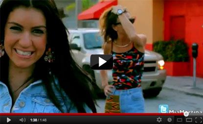 YouTube: Mia Martina ft. Adrian Sina - Go Crazy [Behind The Scene]