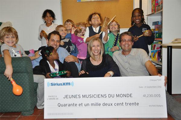 Jeunes musiciens du monde - SiriusXM Canada