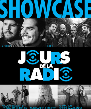 Showcase - Jours de la radio - ARCQ