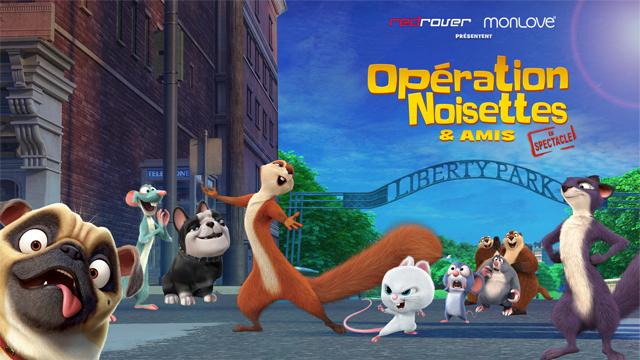 Opération Noisettes et amis, en spectacle