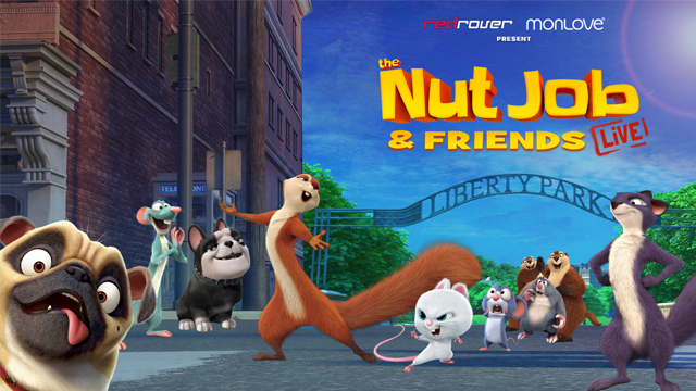 The Nut Job and Friends Live
